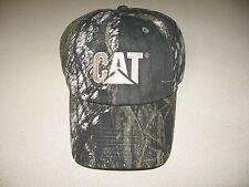Cat Ball Cap Caterpillar Hat NWT Mossy Oak Break up Hunting Camoflauge