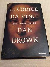 LIBRO ROMANZO BEST SELLER - IL CODICE DA VINCI - DAN BROWN - MONDADORI 2005