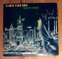 Dave Grusin ‎– Night-Lines Vinyl LP Album 33rpm 1984 GRP ‎– GRP-A-1006 Promo