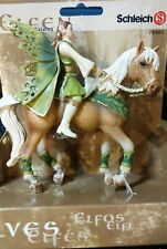 NEW Schleich 70401 Falaroy on Elfen Horse Sun Elf Figure Figurine Fantasy Bayala