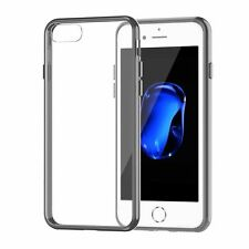 AMUOC iPhone 7 Case ,Soft Bumper Cover with Crystal Clear Back Panel...