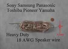 1 40ft speaker cable/wire #18 made for 4.2mm Sony/Samsung/Panasonic Home theater