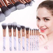10Pcs Pro Makeup Cosmetic Brushes Set Powder Foundation Eyeshadow Lip Brush 364U