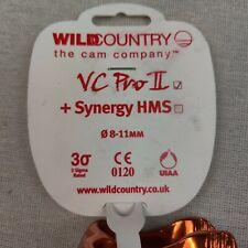 New listing Wild Country VC Pro II Belay Device orange 8-11 mm