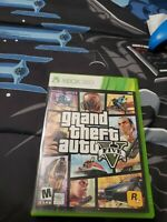 Grand Theft Auto V  (Microsoft Xbox 360, 2013) with map of San andreas!