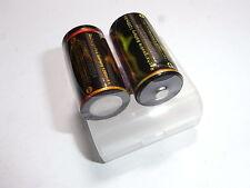 2 batterie tf 18350 ICR Trustfire LiCoO2 1200 mAh ICR  4A descharge 3,6C