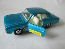 1972 Matchbox Blue Ford Cortina Car #25 England 1:64 Superfast