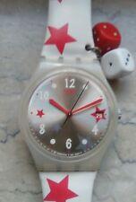 """orologio swatch STANDARD GENT modello """"STAR FEELINGS"""" GW406 anno 2008 USATO"""