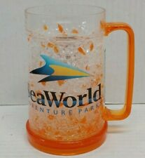 Vintage Sea World Adventure Parks Shamu Crystal Frosty (Mamomo) Mug