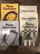 Abeka Academy Plane Geometry Student & Teacher Books