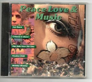 Peace Love & Music The 60's CD  Good Condition