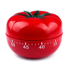 TOMATO Mechanical Kitchen Timer Game Count Down Counter Alarm Cooking Tool 60m