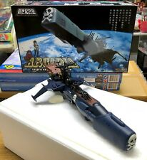 AOSHIMA Chogokin Space Pirate Battle Ship Arcadia Captain Harlock BLUE VERSION