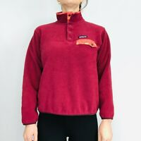 Patagonia Synchilla Snap-T Fleece Women's Small Burgundy