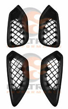 2009-2013 C6 Corvette ZR1 Genuine GM LH & RH Upper & Lower Fender Ornament Set
