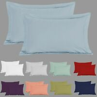 1000 Thread Count Oxford Pillowcases 100% Hotel Egyptian Cotton Pillow Cover