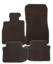 Fußmatten passend für Alfa 33 Bj. ab 6.83  in Velours Deluxe dunkelbraun brasil