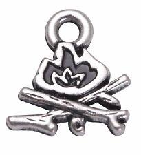 20 pcs/lot Camping Bonfire Charms Bracelets DIY Jewelry Accessories Wholesale