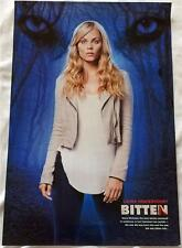 "BITTEN - 12""x18"" Original Promo TV Poster SDCC 2014 Laura Vandervoort SyFy MINT"