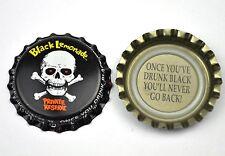 Black Lemonade Beer Bier Soda Kronkorken USA Soda Bottle Cap Totenkopf Skull