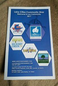 2017 Community Map - Corinth, Hickory Creek, Lake Dallas, Shady Shores Texas