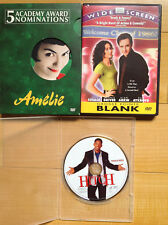 Amelie (2 Dvd Special Edition) / Grosse Pointe Blank / Hitch (no artwork)