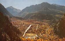 OURAY, CO  Colorado    AERIAL VIEW OF THE CITY  Once a Mining Camp   Postcard
