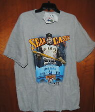 SEAN CASEY T SHIRT PITTSBURGH PIRATES PNC PARK 2008 NEW WITH TAGS LARGE