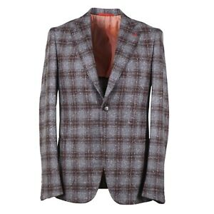Isaia Extra-Slim 'Capri' Soft Donegal Wool-Silk-Cashmere Sport Coat 44 (fits 42)