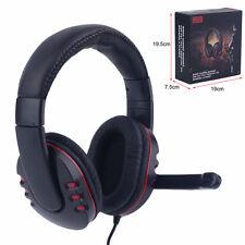 Gaming Headset 3,5mm 5in1Gamer Kopfhörer + Mikrofon für PC Notebook Mac DE