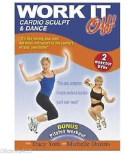 Work It Off! Cardio Sculpt & Dance (2 Workout DVDs) Usually ships within 12 hrs!