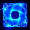 120mm 4 broches Bleu LED Ventilateur de Refroidissement CPU Ordinateur PC 12V