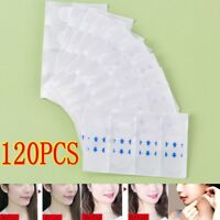 120pcs v shape face lift up fast work maker chin adhesive tape face lift tool