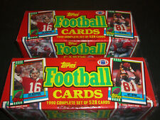Vintage Topps Football Cards 1990 Complete Set Yt1