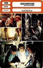 Movie Card Fiche Cinéma. Arachnophobie / Arachnophobia (USA) Frank Marshall 1990