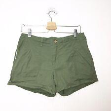 Mountain Hardwear Womens Green Chino Shorts Size 8
