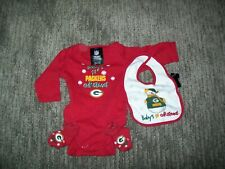 SIZE 0-3 MONTHS OLD: PACKERS BABY OUTFIT (NWOT)