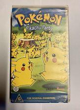 Pokémon Pikachu Party TV Series VHS