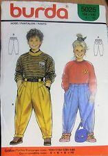 Burda  sewing pattern no. 5025 Children's pants size 4- 10