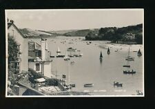 Devon SALCOMBE General view Boats c1950/60s? RP PPC Judges #28211