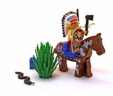 1997 LEGO Western Indians Tribal Chief (6709) COMPLETE