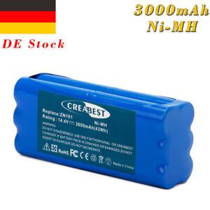 14.4V 3.0AH Ni-MH Akku für Ecovacs Dibea ZN101 K6 Dirt Devil Libero M606 M606-2