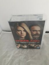 Homeland: The Complete Series Season 1-4 Collection  UK DVD SET REG 2