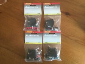 4 x New Hornby R044 Lever Switch for points, new and unused, passing contact