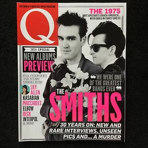 Q Magazine - The Smiths Morrissey - February 2014 Kasabian excellent condition