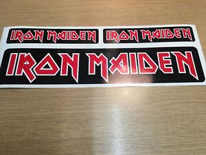 X3 Iron Maiden Sticker Decal Music Rock Metal Metallica Car Window Laptop lid