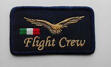 PATCH TARGHETTA PORTANOME FLIGHT CREW CIVILE
