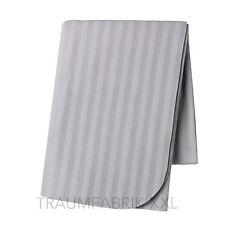 IKEA PLAID COUVRE-LIT 160x120cm couverture peluche Polaire Jeté GRIS NEUF