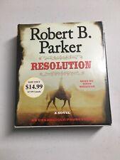 Robert B,Parker Resolution Audio book compact disc