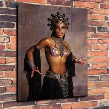 """Queen Of The Dammed Vampire Canvas Printed Picture A1.30""""x20""""~Deep 30mm Frame.."""